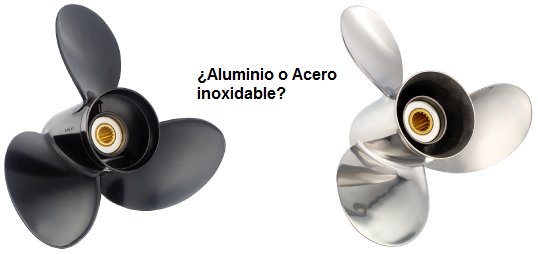 Acero inoxidable vs. aluminio