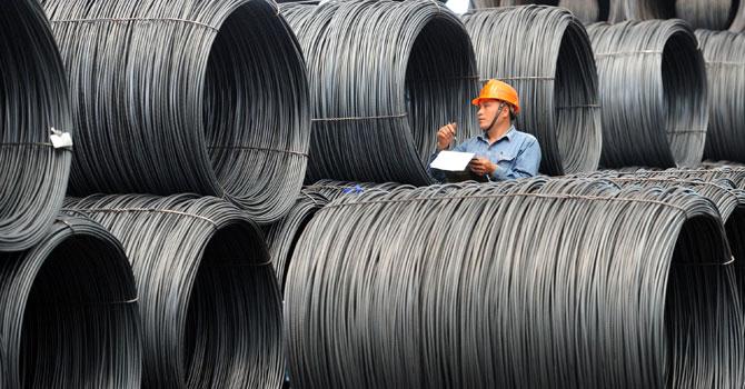La industria del acero quiere frenar la competencia China