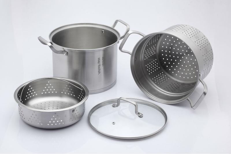 Recomendaciones con los utensilios de acero inoxidable for Material cocina