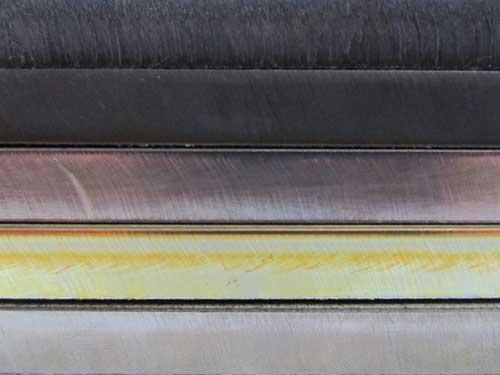Diferencias entre acero inoxidable y  acero al carbono